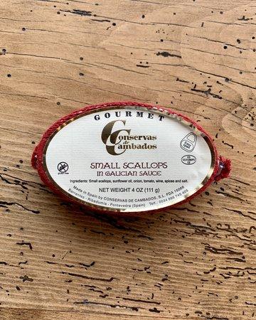Small Scallops in Galician Sauce Conservas de Cambados