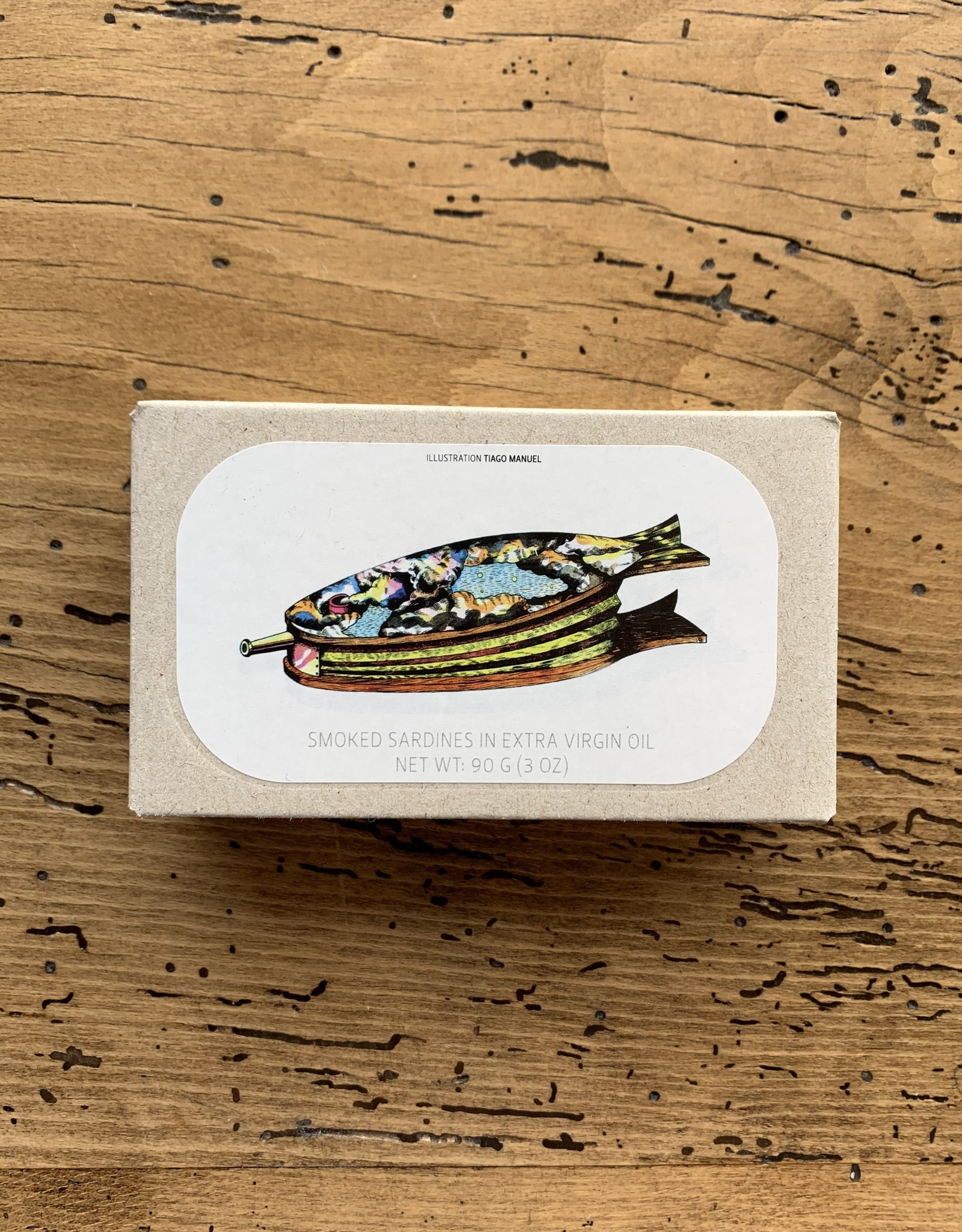 Jose Gourmet Smoked Small Sardines in Olive Oil