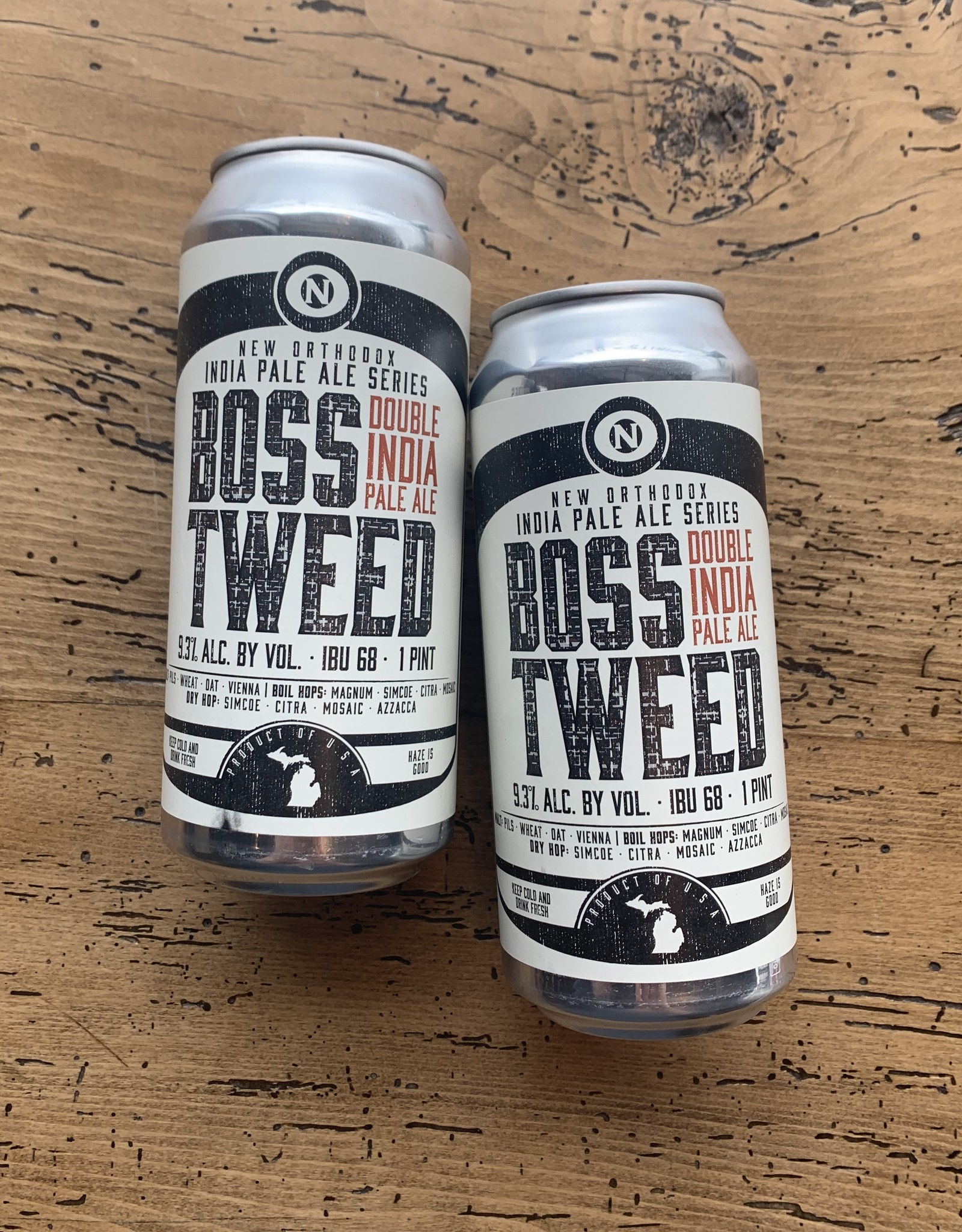 Old Nation Boss Tweed Double IPA 4pk