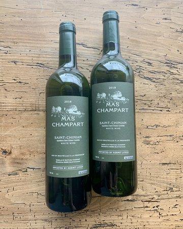 Mas Champart Saint-Chinian Blanc