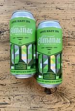Almanac Love Hazy IPA 4-Pack Cans