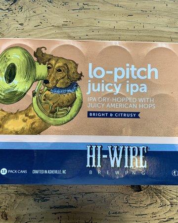 Hi-Wire Brewing Lo-Pitch Juicy IPA 6pk