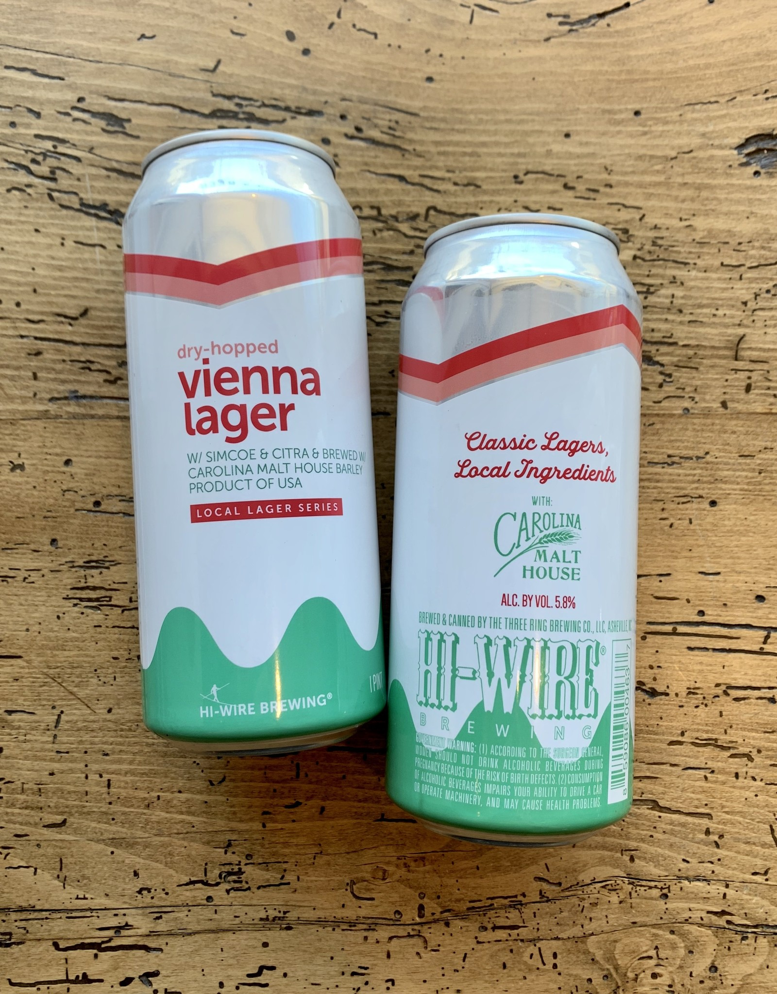 Hi-Wire Brewing Dry-Hopped Vienna Lager 4pk