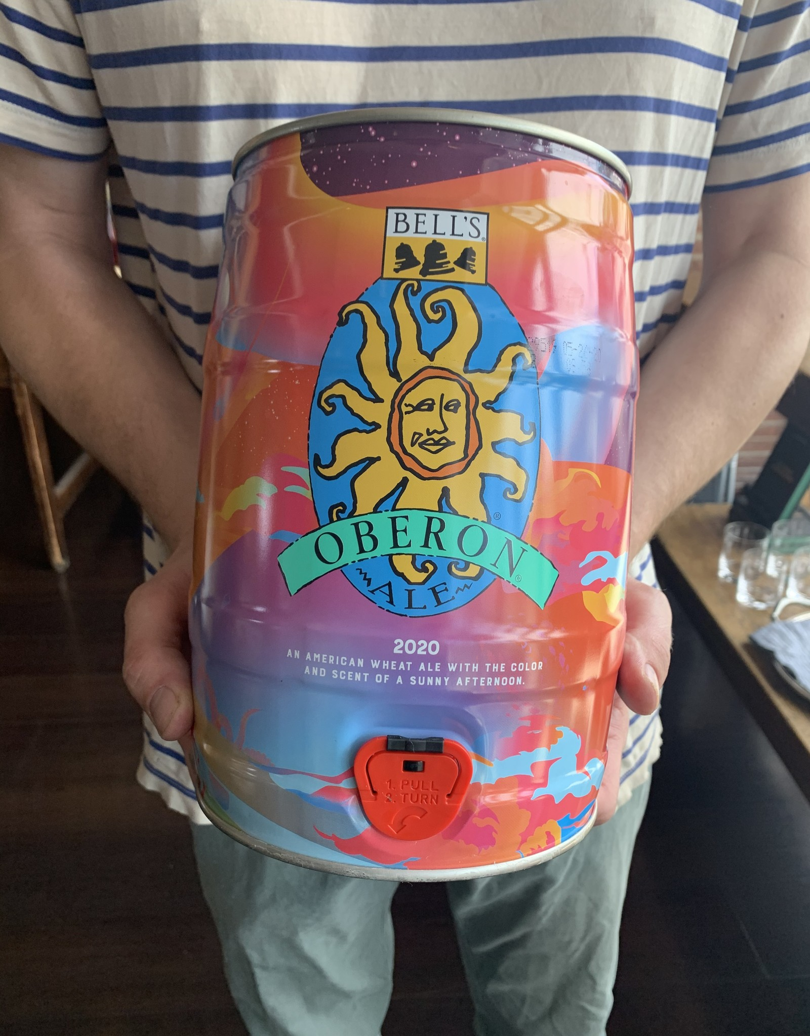 Bell's Oberon 5L Can