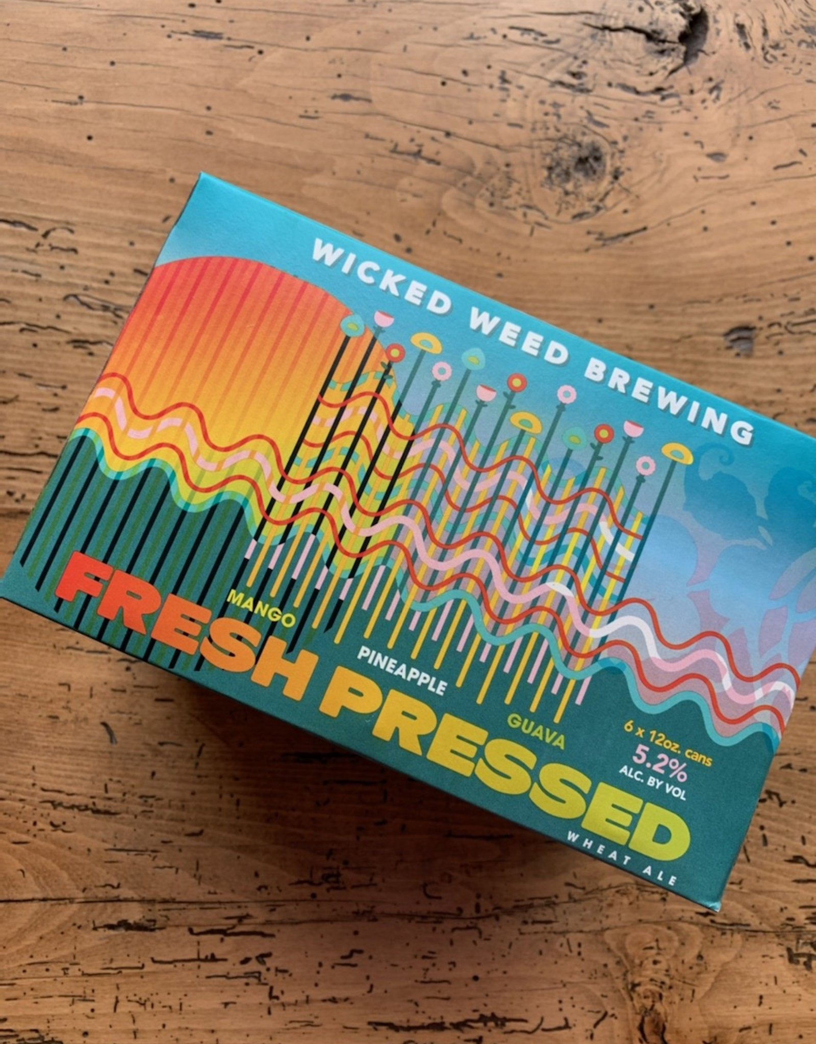 Wicked Weed Fresh Pressed Wheat Ale 6pk