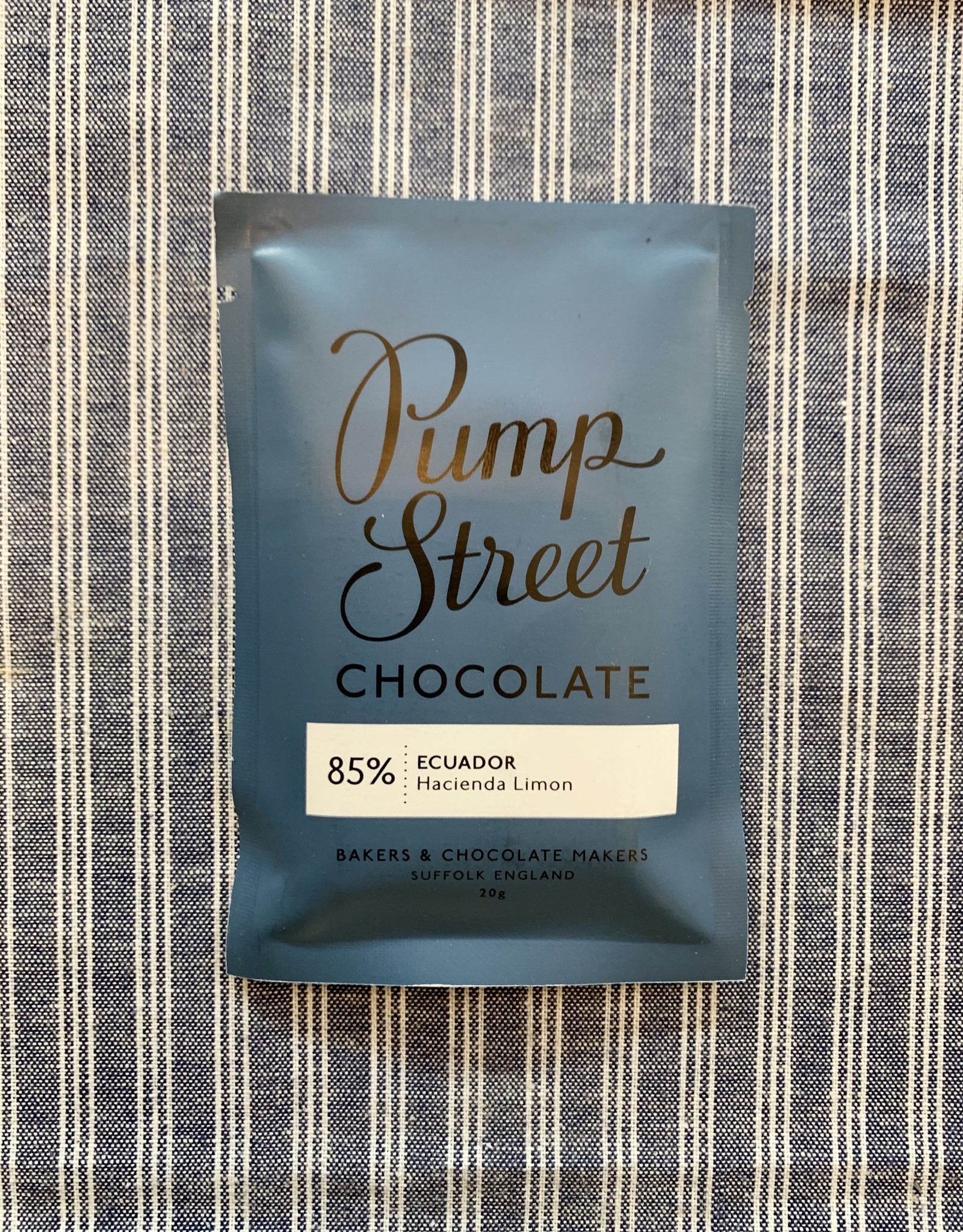 Pump Street Chocolate Ecuador Hacienda 85% Mini
