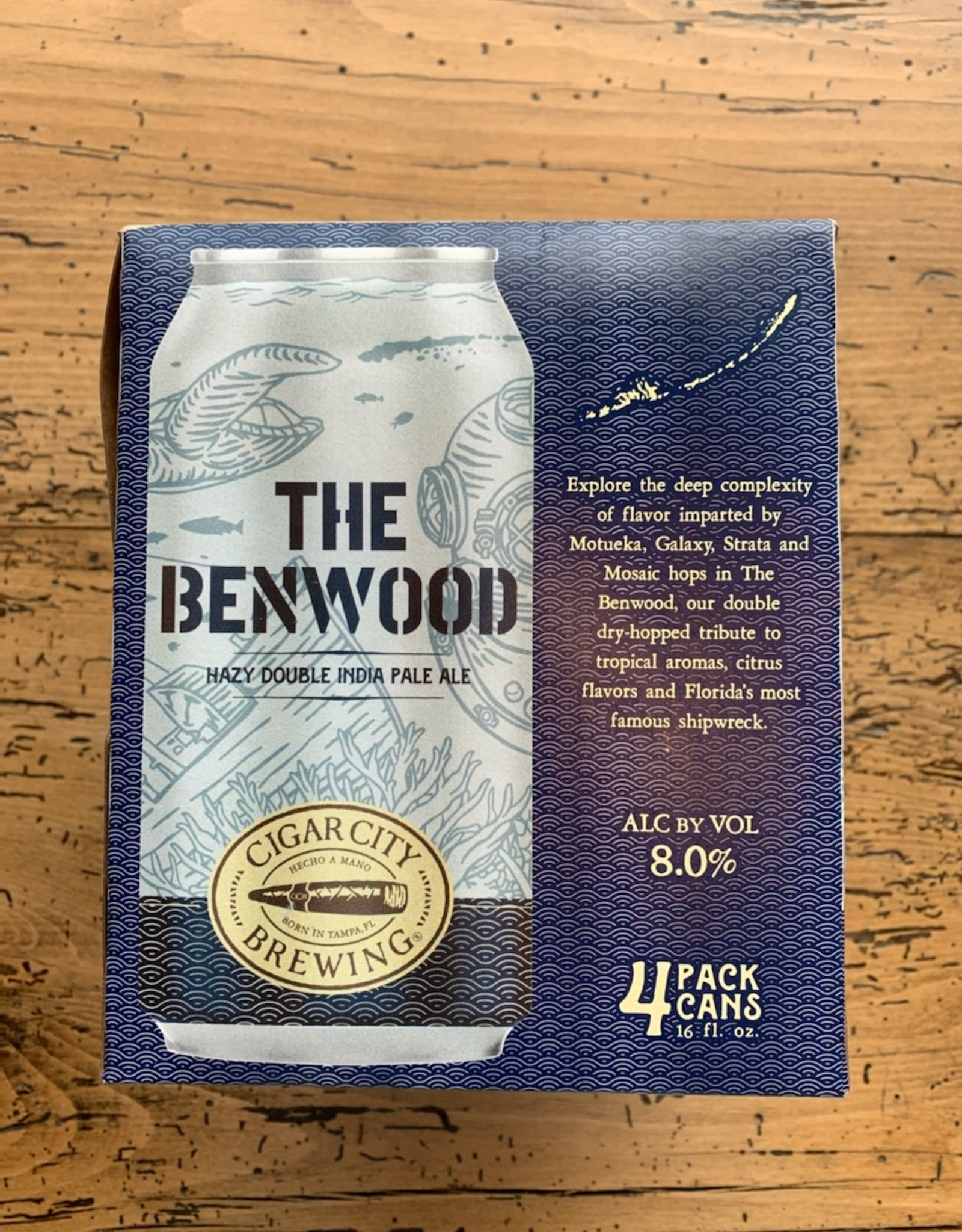 Cigar City The Benwood Hazy IPA 4pk