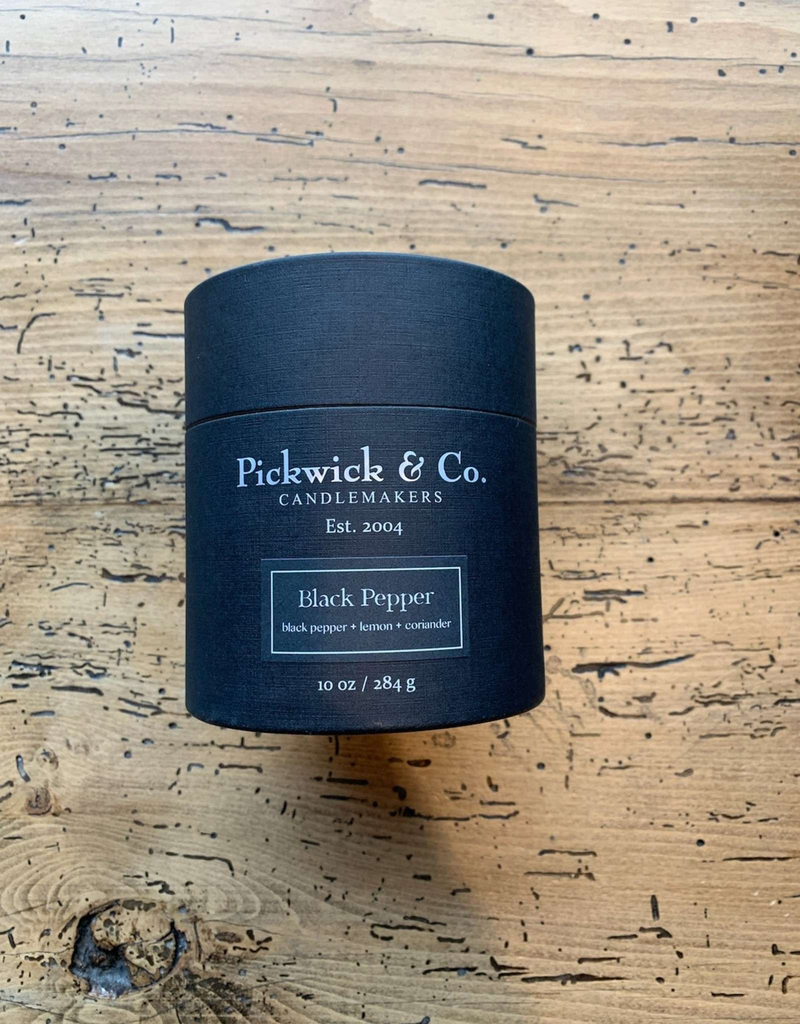 Pickwick & Co. Black Pepper Candle