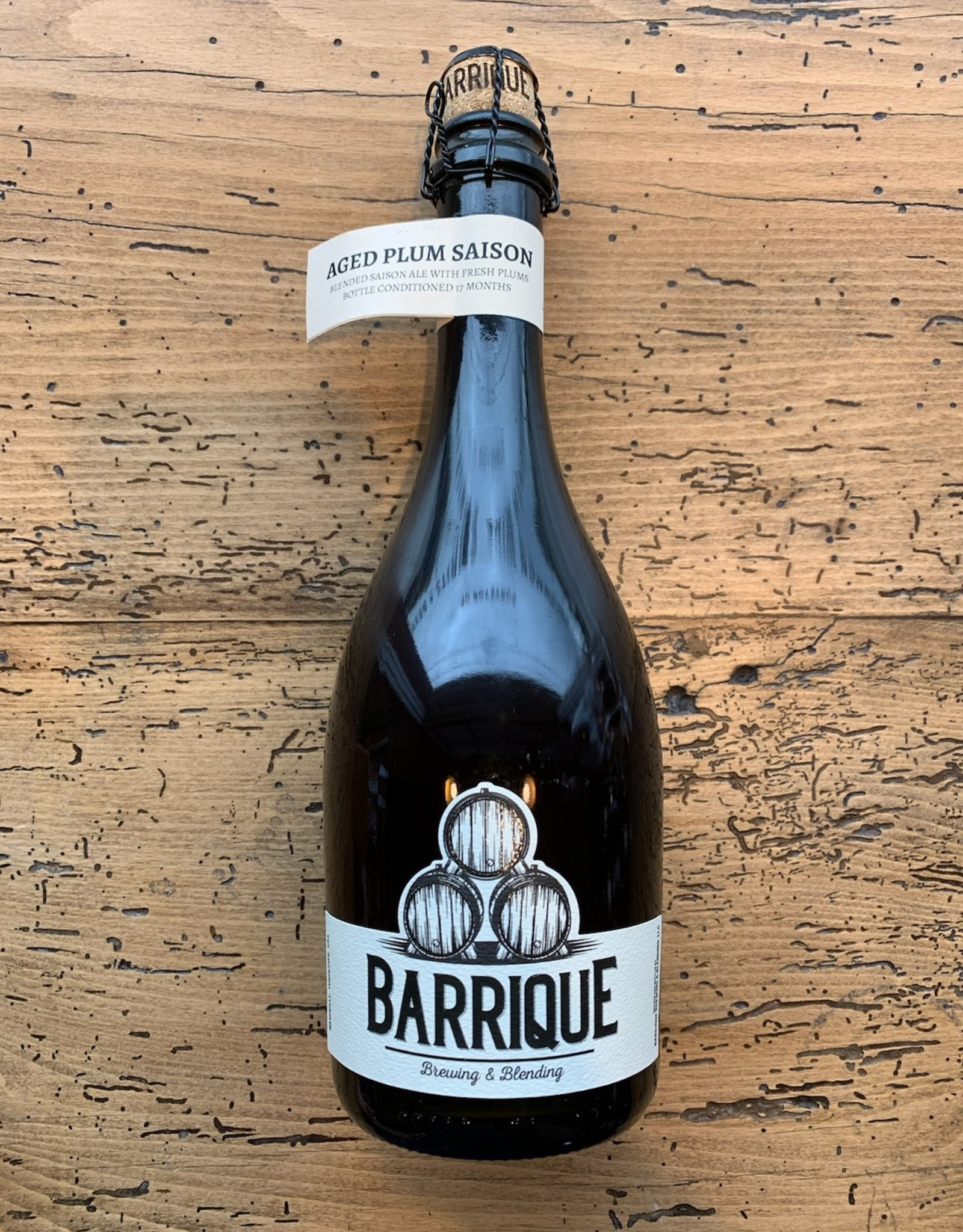 Barrique Brewing & Blending Aged Plum Saison 500ml