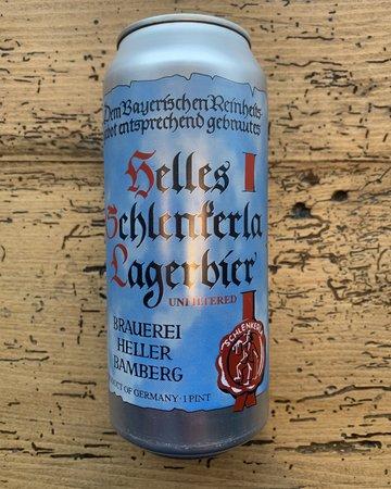 Helles Schlenkerla Lager 4-pack Cans single