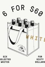 All White 6 for $60