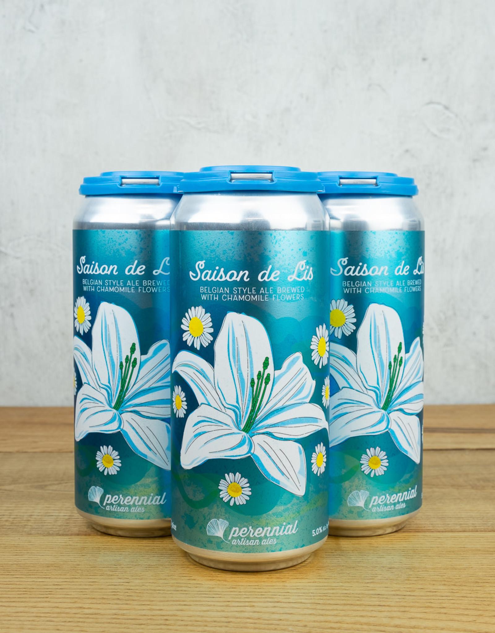 Perennial Saison de Lis 4pk cans