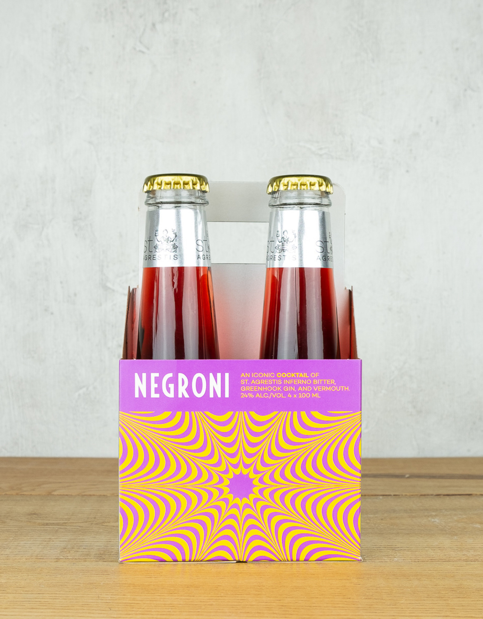 St Agrestis Negroni 4pk