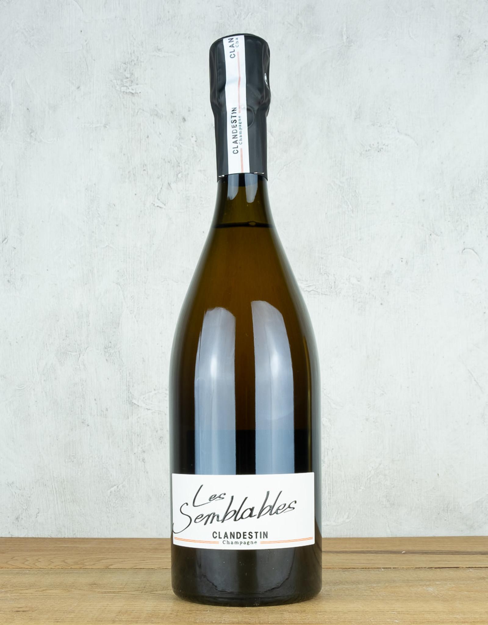 Clandestin Champagne Les Semblables