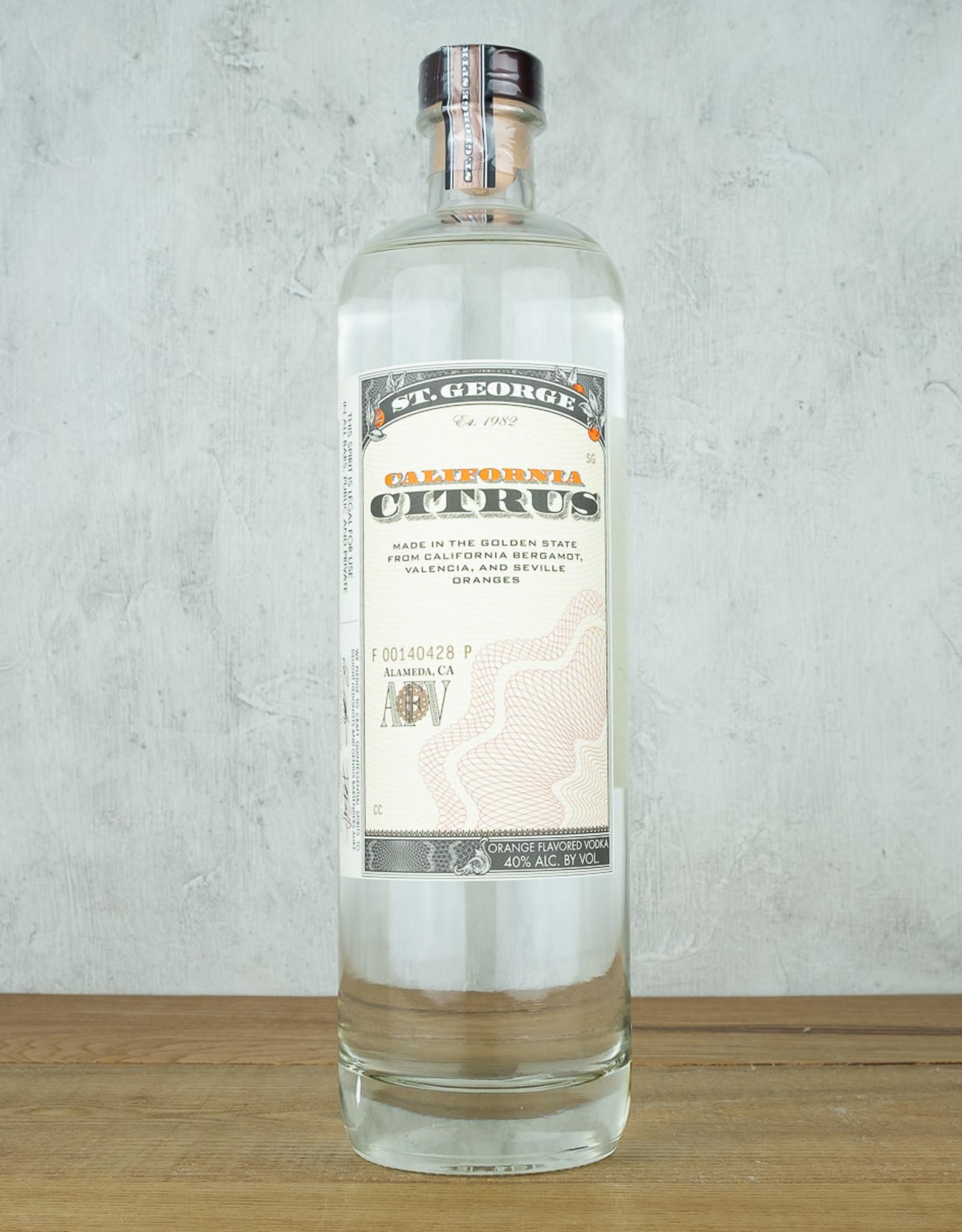 St George Citrus Vodka