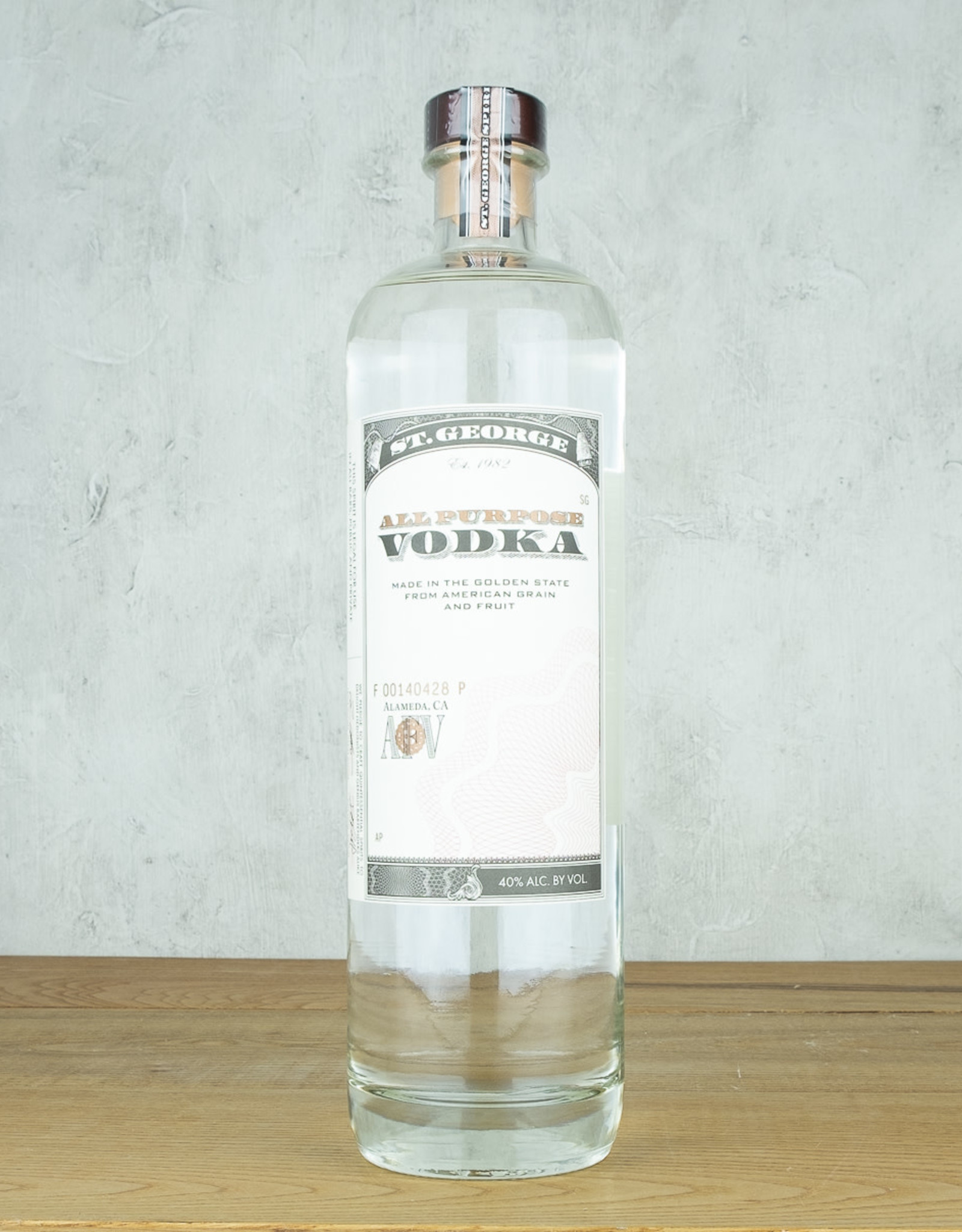 St George All Purpose Vodka