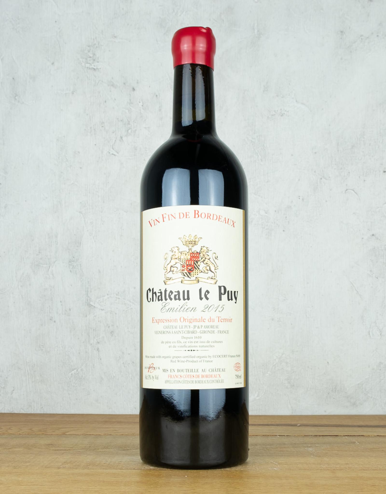 Chateau Le Puy Emilien Francs Cotes Du Bordeaux