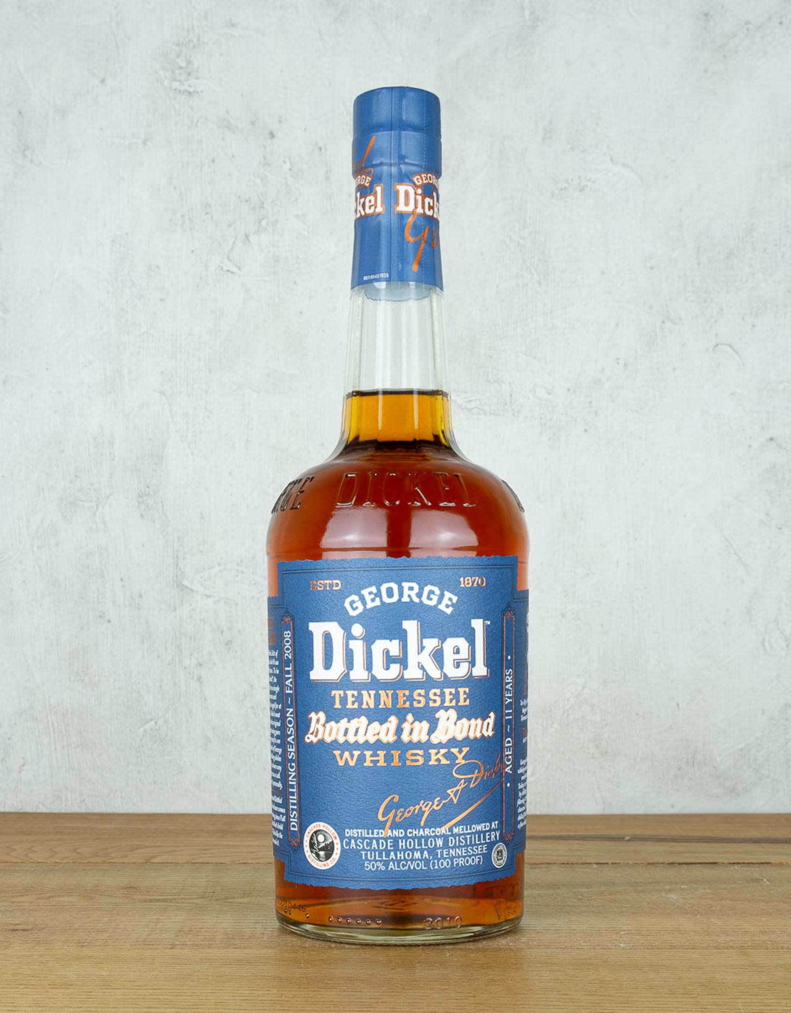 George Dickel Tennessee Whiskey Bottled in Bond