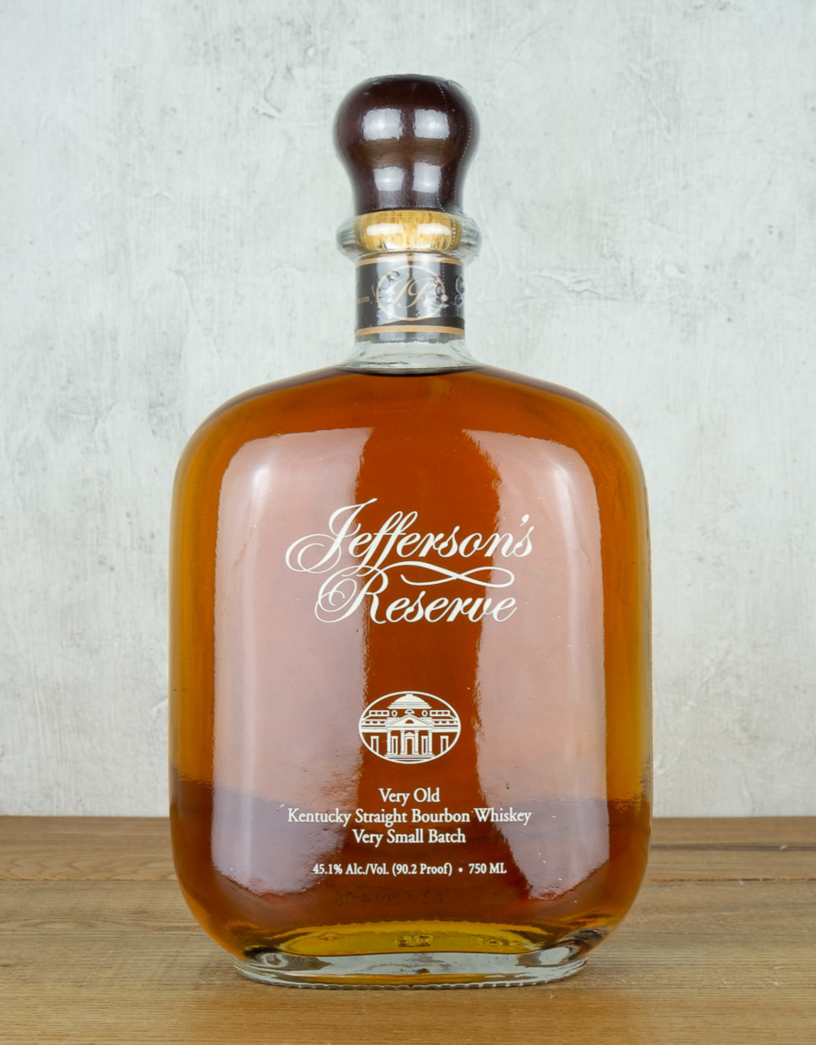 Jeffersons Reserve Very Small Batch Bourbon