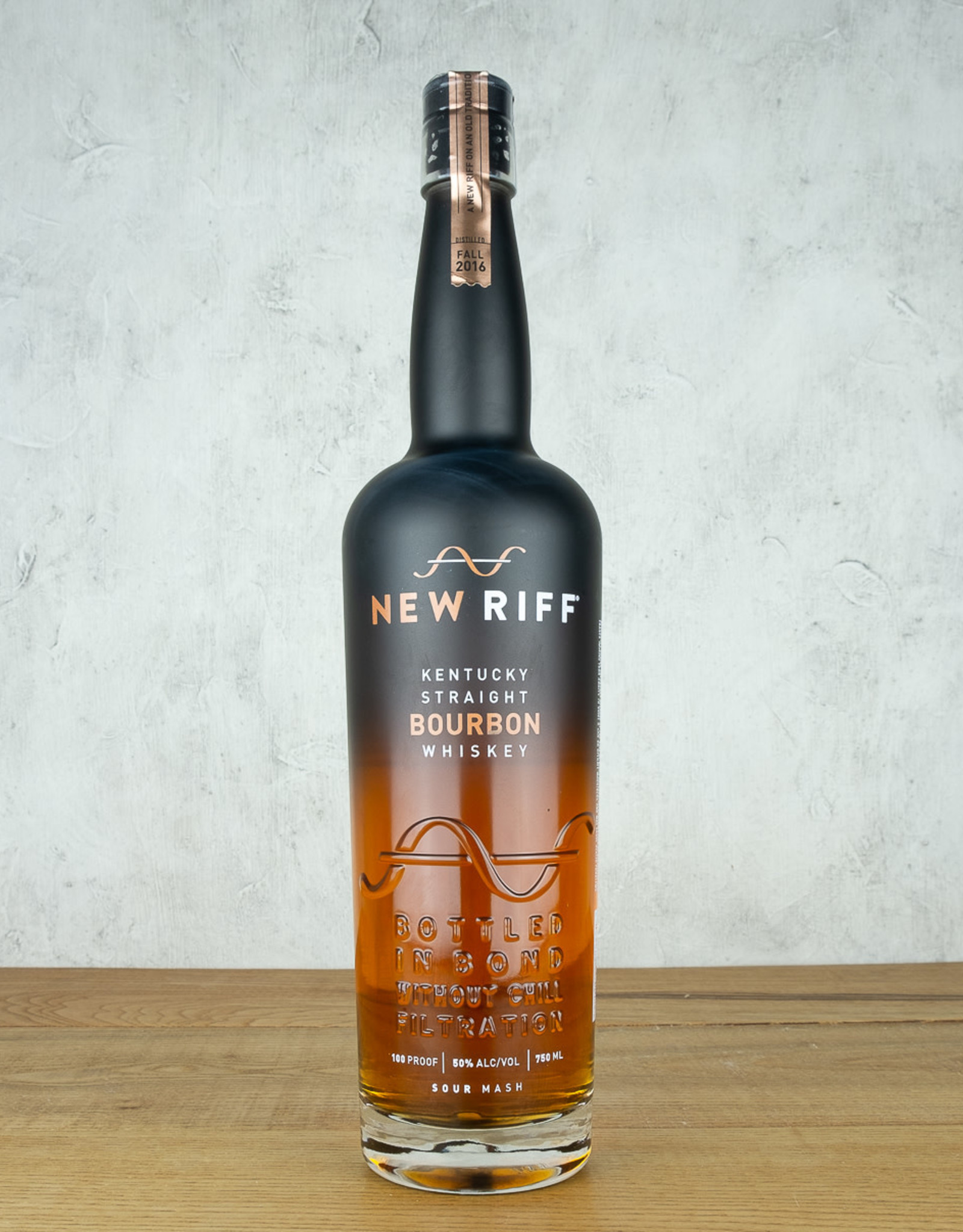 New Riff Bourbon Bottled in Bond