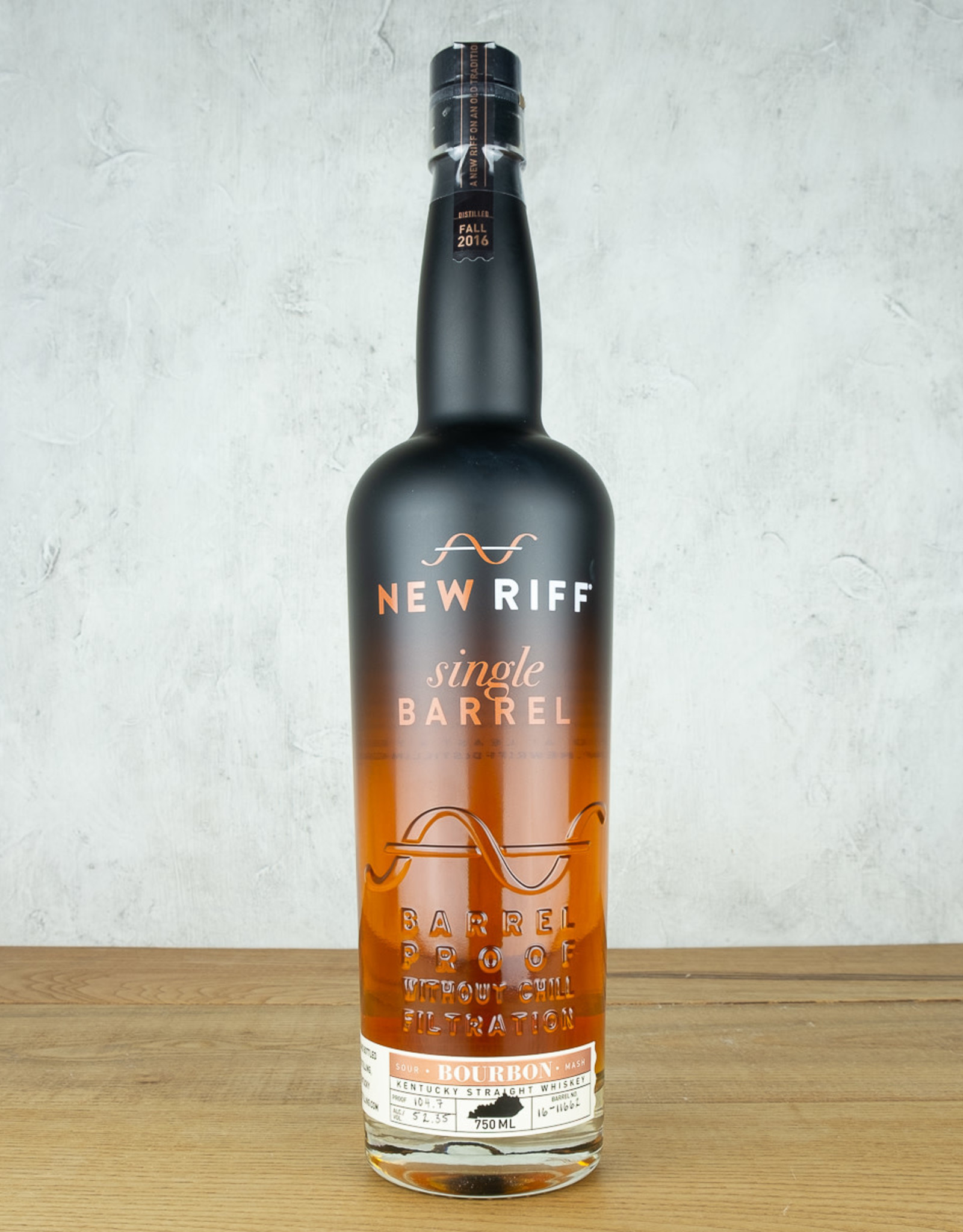 New Riff Single Barrel Bourbon