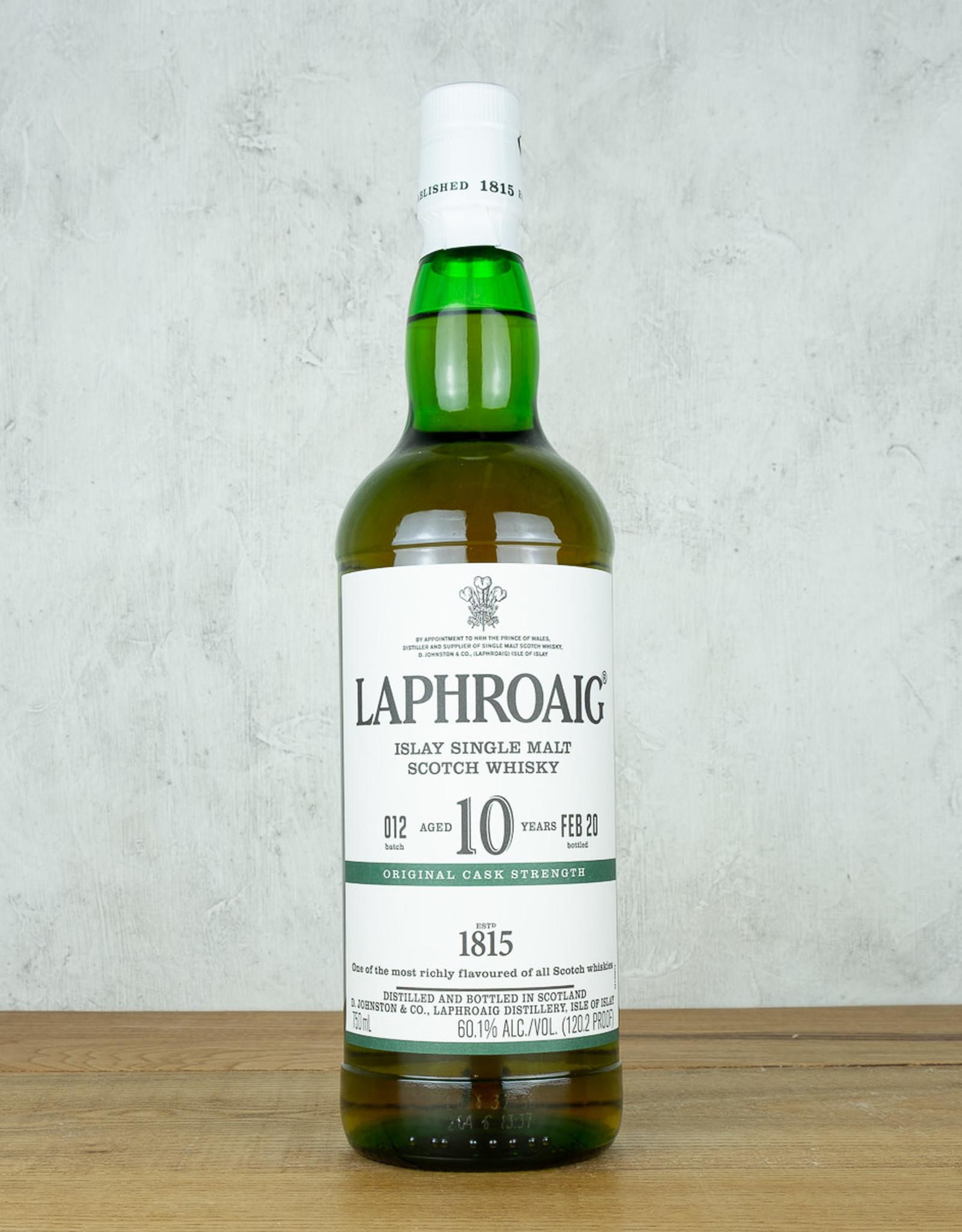 Laphroaig 10 Year Cask Strength Single Malt Scotch Whisky