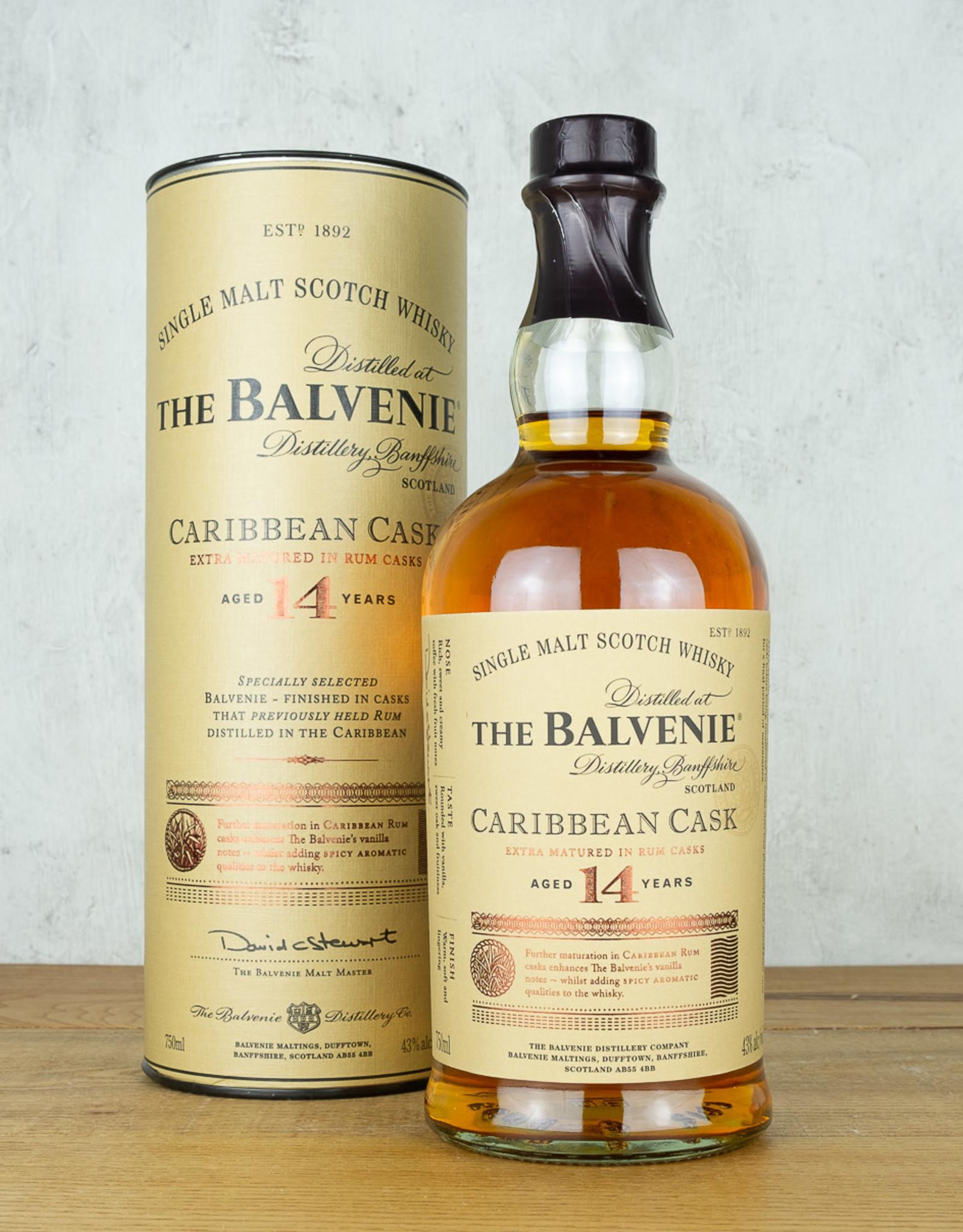 Balvenie 14 Year Caribbean Cask Single Malt Scotch Whisky