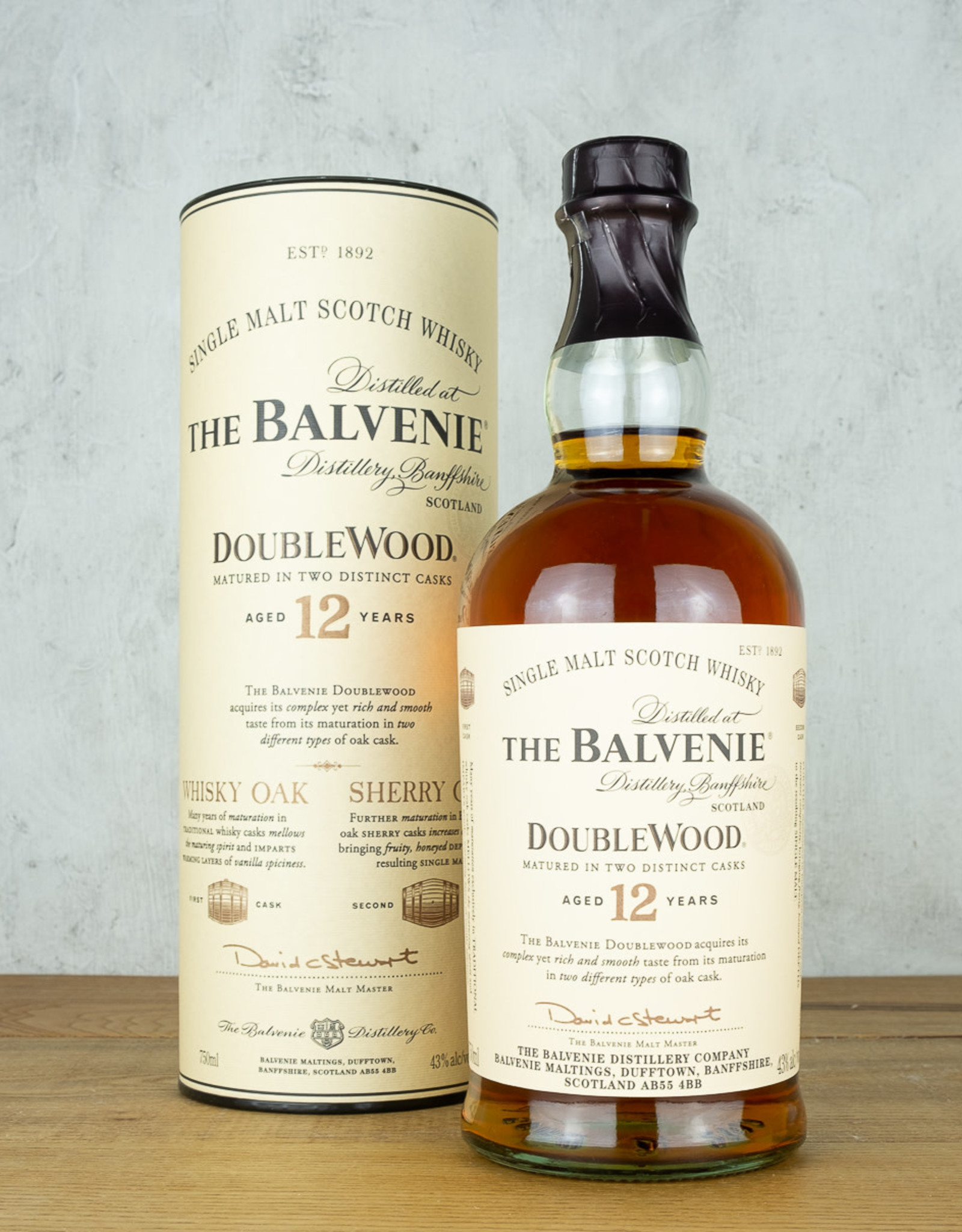 Balvenie 12 Year Doublewood  Single Malt Scotch Whisky