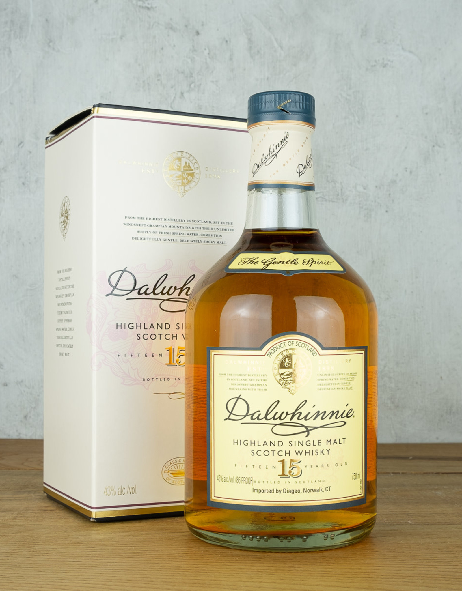 Dalwhinnie 15 Year Single Malt Whisky