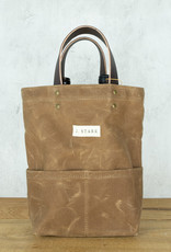 J. Stark Wine Tote - Tan Canvas