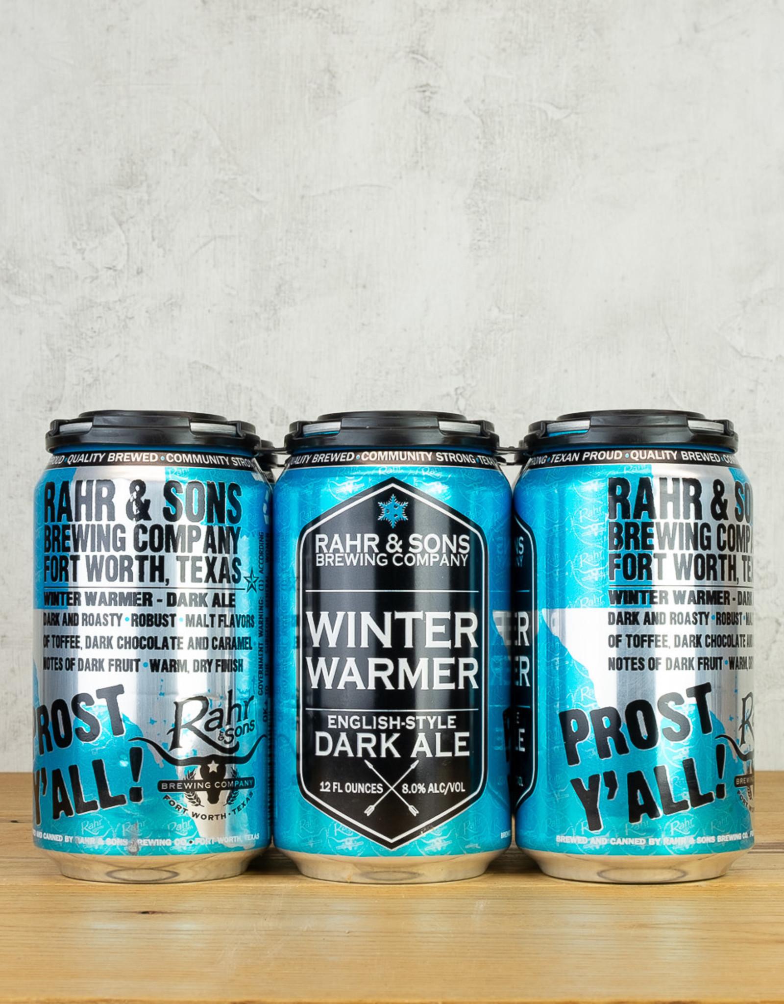 Rahr & Sons Winter Warmer Dark Ale 6pk