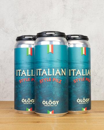 Ology Brewing Italian Style Pilz 4pk