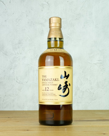 Yamazaki 12 yr Single Malt Japanese Whisky