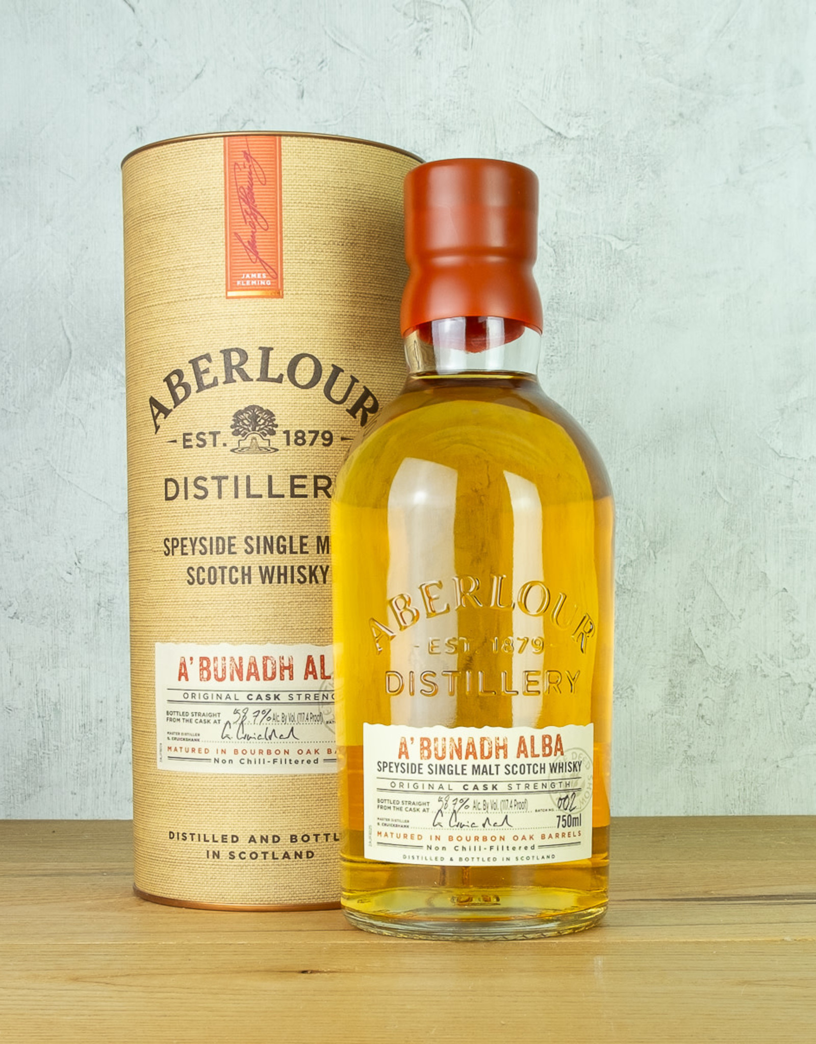 Aberlour A'Bunadh Alba Single Malt Whisky