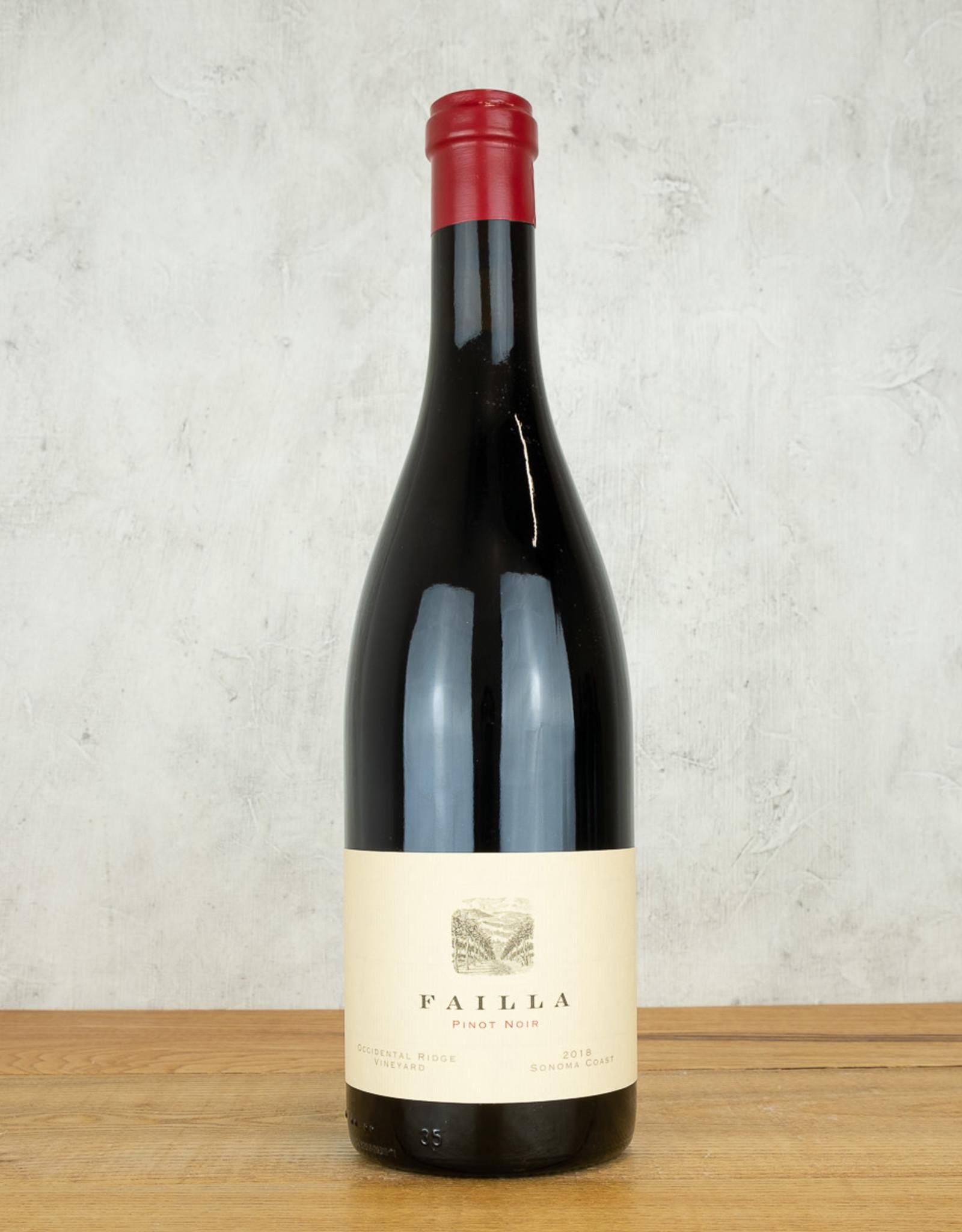 Failla Pinot Noir Occidental Ridge