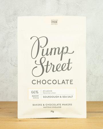 Pump Street Chocolate Sourdough and Sea Salt