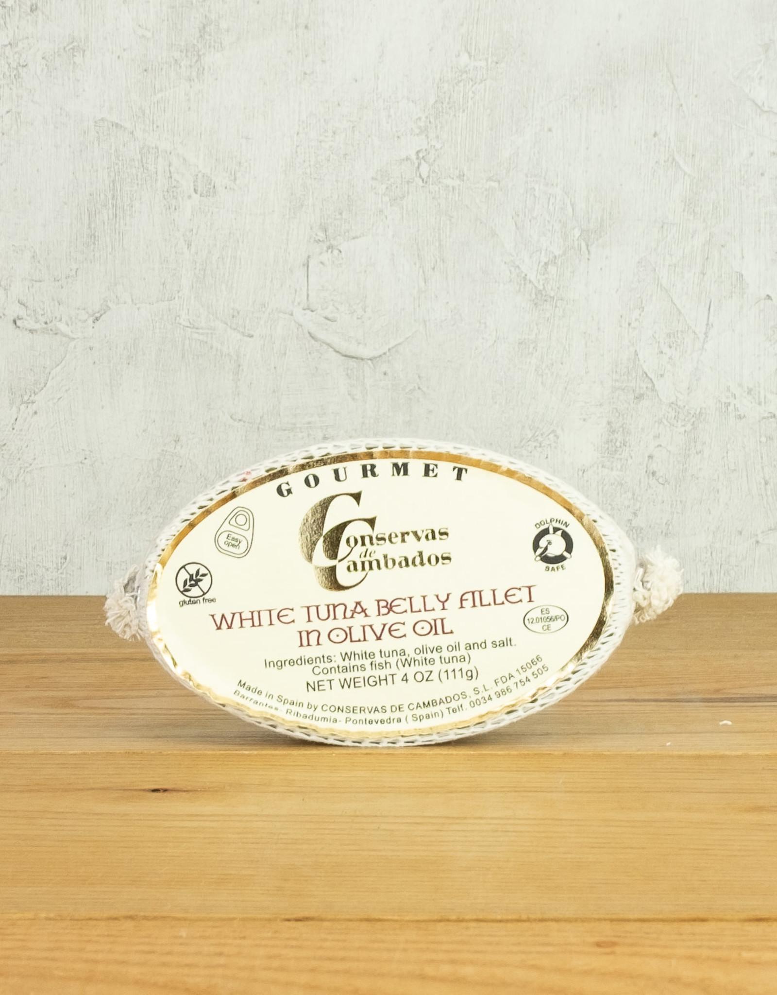 Conservas de Cambados White Tuna Belly Fillet in Olive Oil