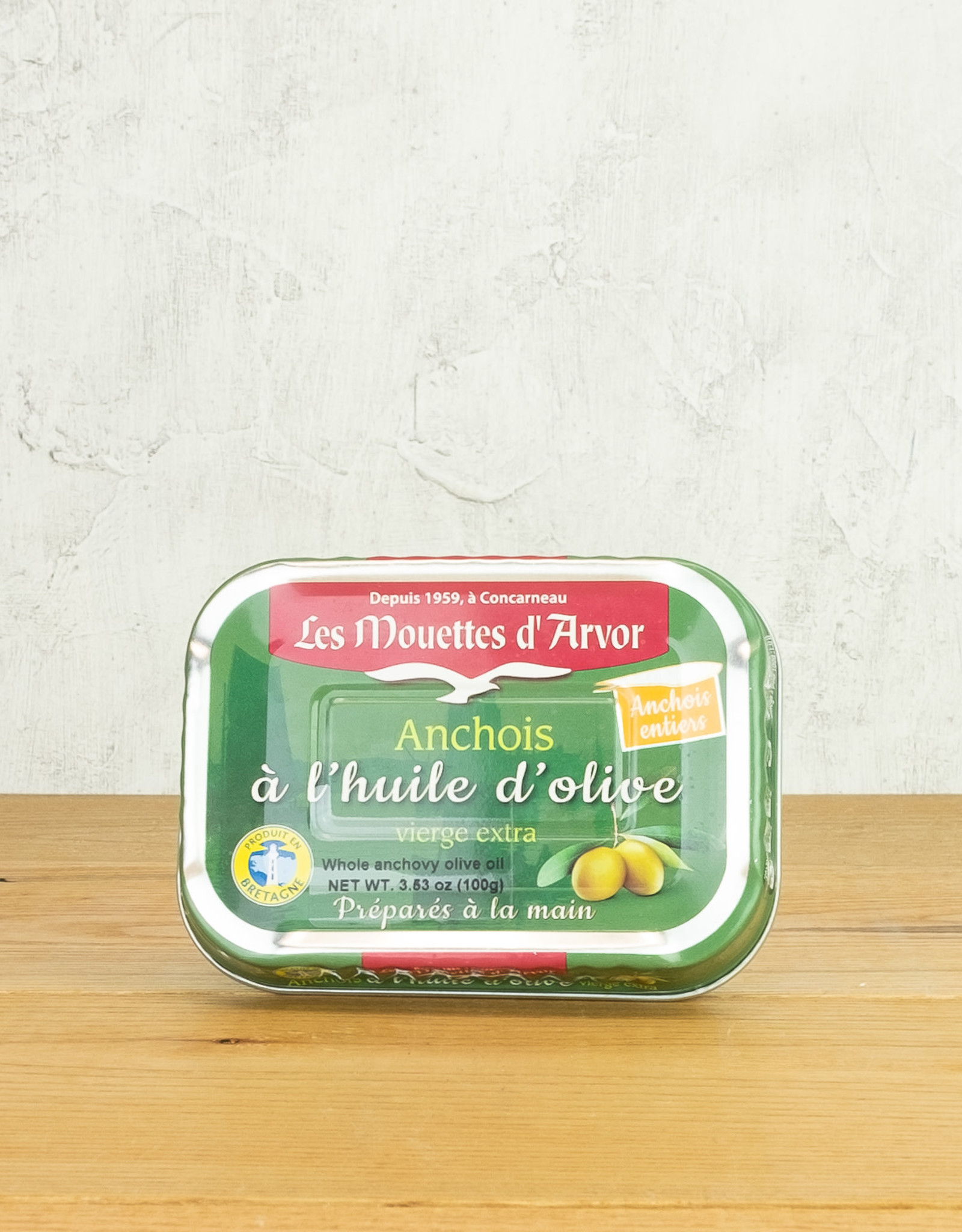 Les Mouettes d'Arvor Anchovies in EVOO