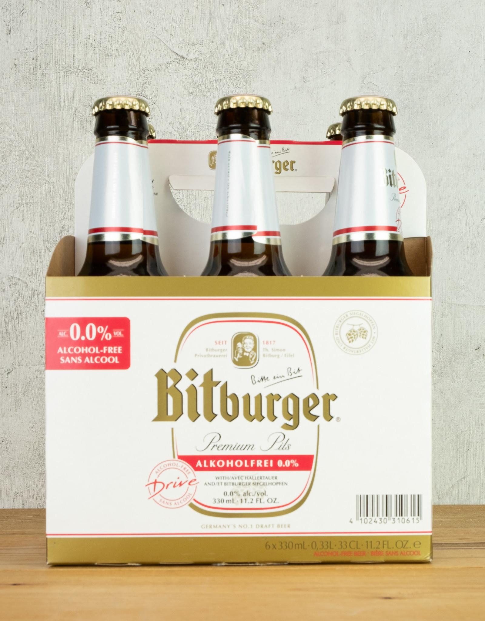 Bitburger Non Alcoholic Pilsner 6pk