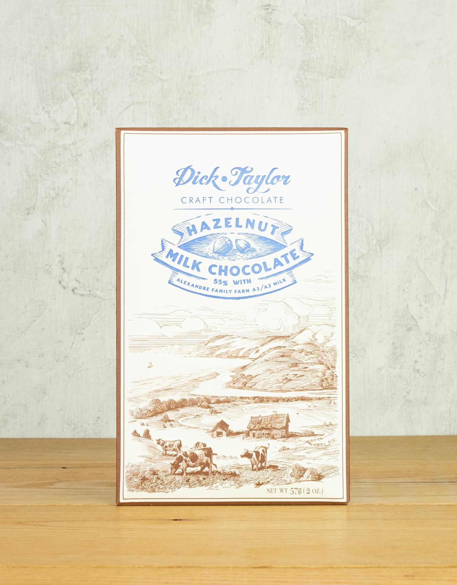 Dick Taylor 55% Hazelnut Milk Chocolate