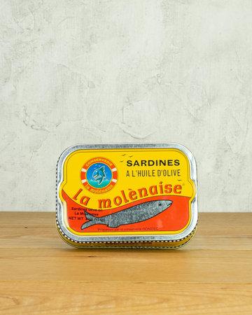 Les Mouettes d'Arvor La Molenaise Sardines in Olive Oil