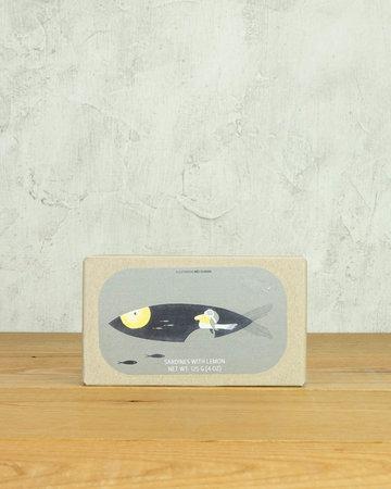 Jose Gourmet Sardines in Olive Oil with Lemon