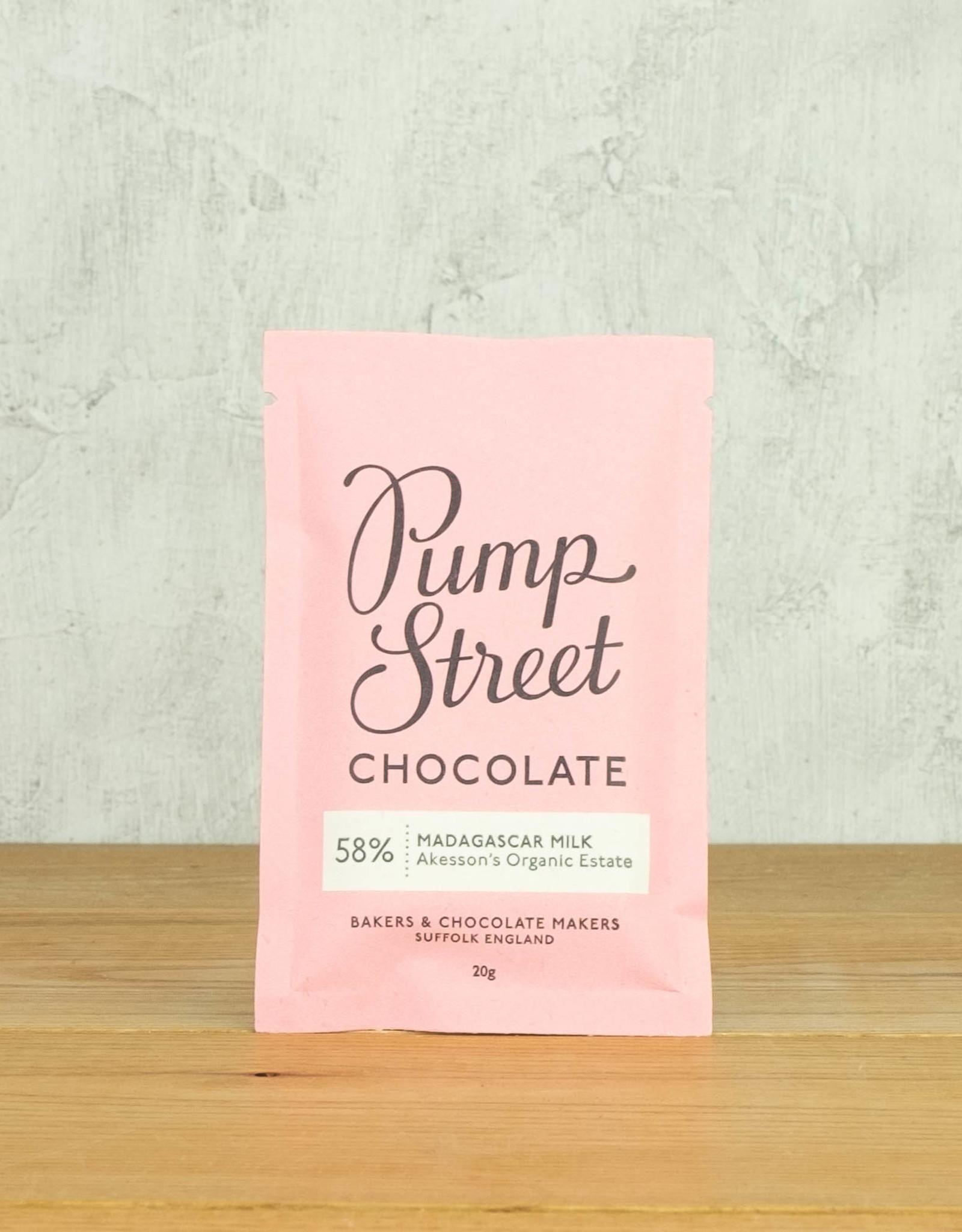 Pump Street Chocolate Madagascar Milk 58% Mini