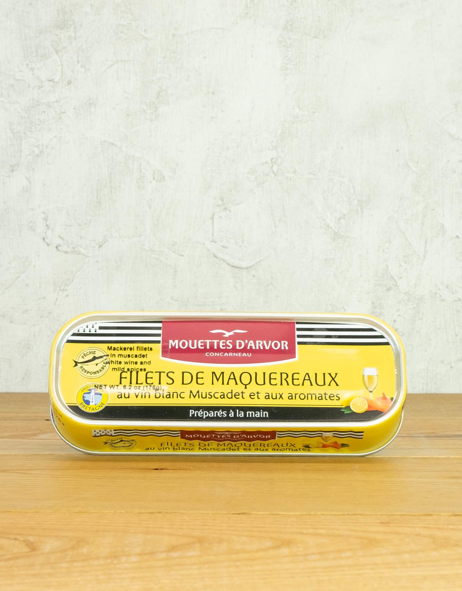 Les Mouettes d'Arvor Mackerel in Muscadet w/ Herbs