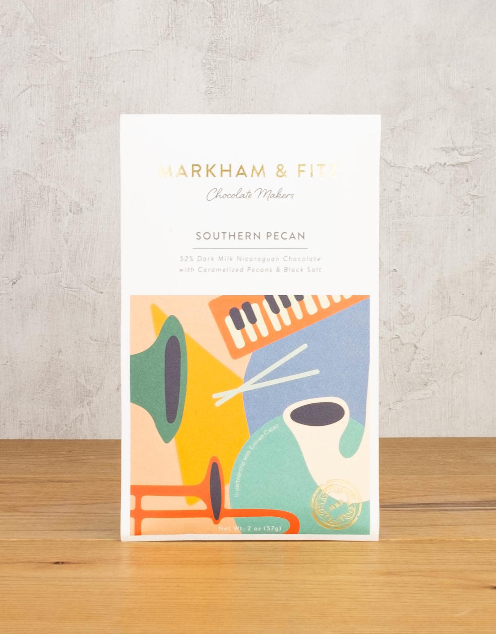 Markham & Fitz Dark Milk & Pecans 52%