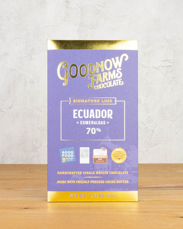 Goodnow Farms Chocolate Ecuador Esmeraldas
