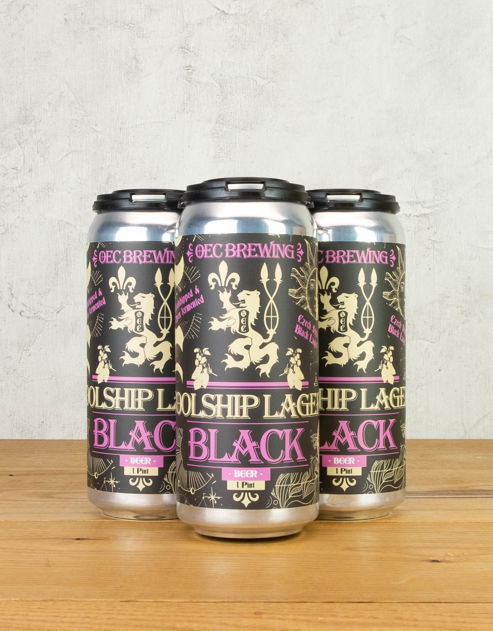OEC Brewing Coolship Black Lager 4pk