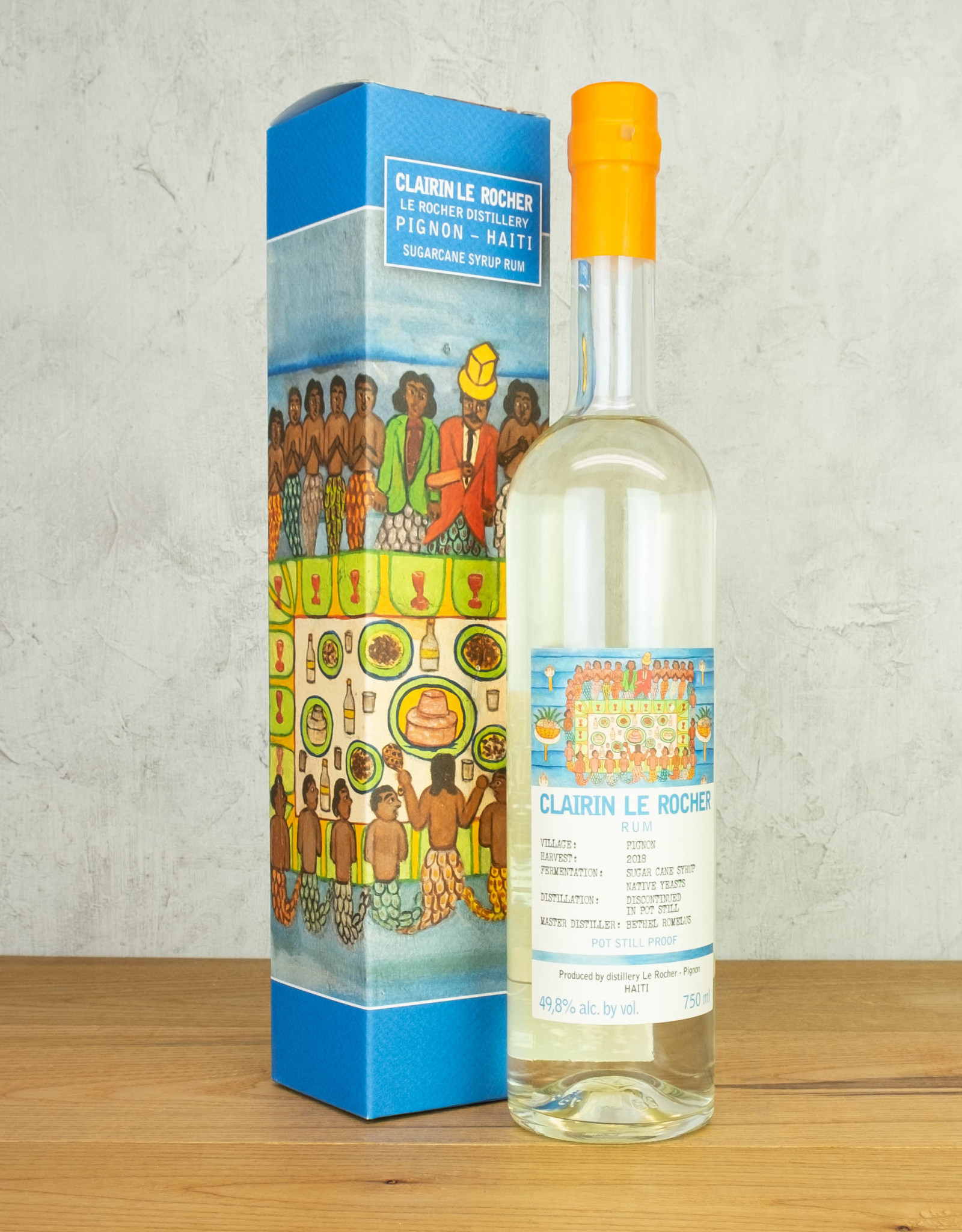 Clairin Le Rocher Pignon Rum