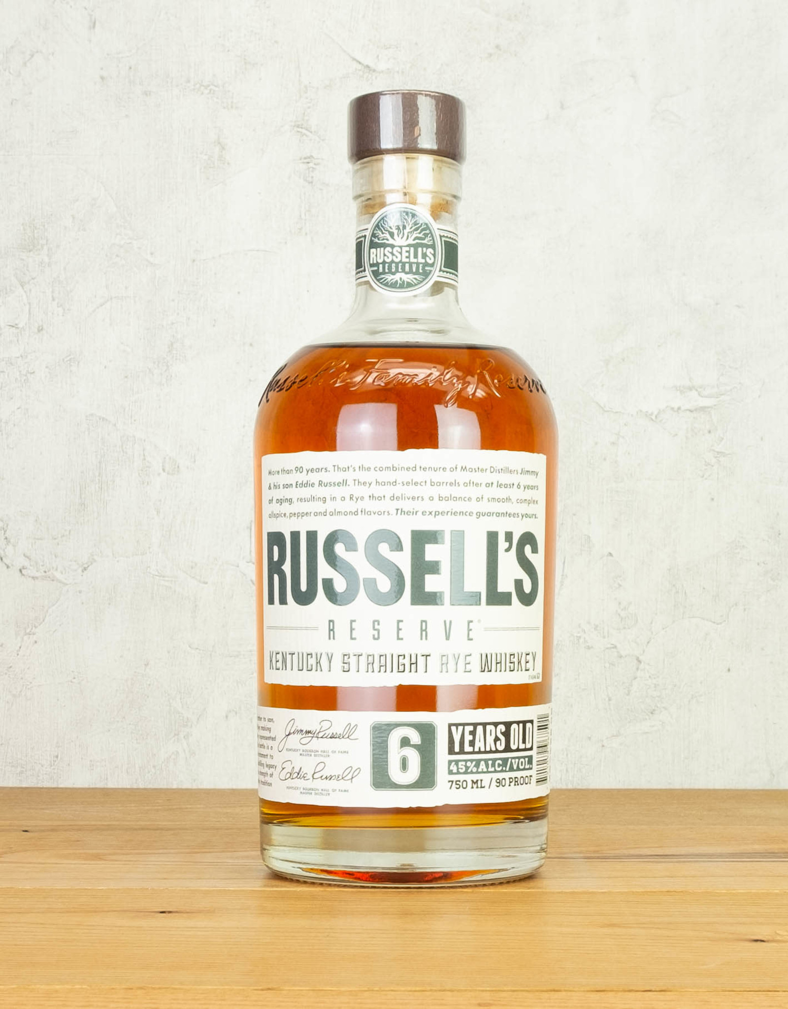 Russell's Reserve 6 Year Rye