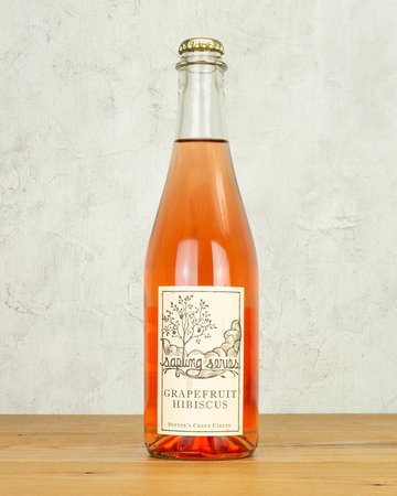 Potter's Sapling Series Grapefruit Hibiscus Cider
